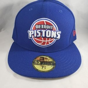 Detroit Pistons New Era 59Fifty Traditional Fitted